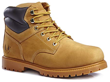 KINGSHOW Most Comfortable Work Boots for Men