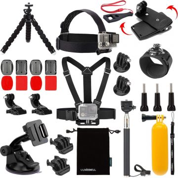 Luxebell GoPro Accessory Kits