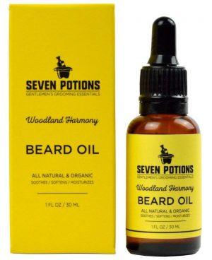 Seven Potions Beard Growth Oils