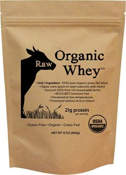 Raw Organic Whey Gluten Free Protein Powders