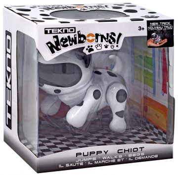Tekno Newborns Robot Dog Toys
