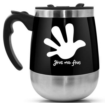 LEADNOVO Self Stirring Mugs