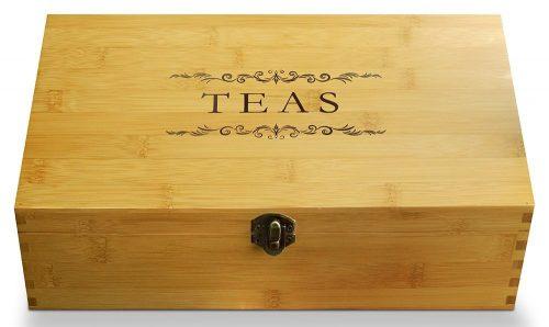 Cookbook People Tea Bag Brganizers