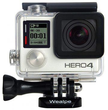 Wealpe GoPro Waterproof Cases