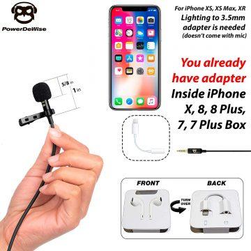 PowerDeWise GoPro Microphones