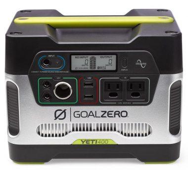 Goal Zero Portable Solar Generators