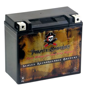 Pirate Battery Motorcycle Batteries