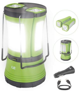 Lighting EVER LED Rechargeable Lanterns
