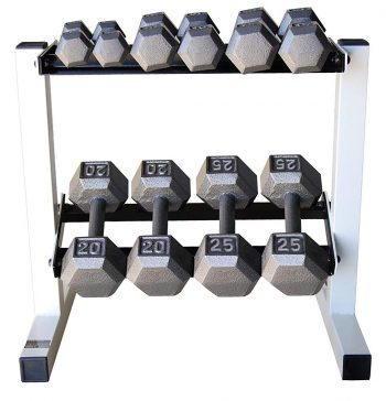 CAP Barbell Dumbbell Sets with Rack