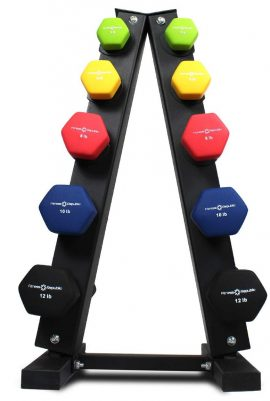 Fitness Republic Dumbbell Sets with Rack