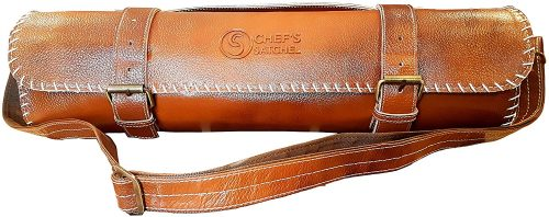 Chef's Satchel Leather Knife Rolls