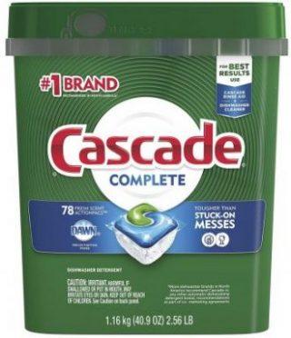 Cascade Dishwasher Detergents