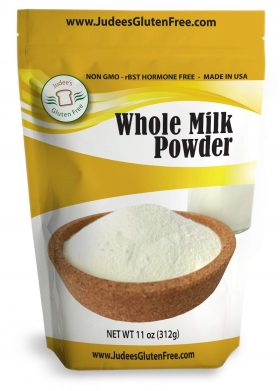 Judee's Gluten Free Powdered Milks