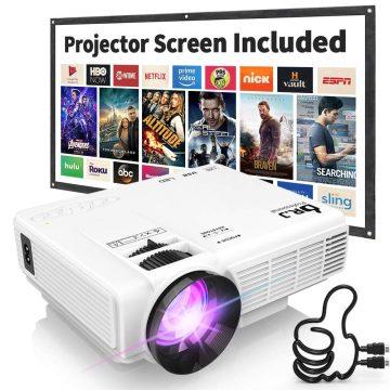 DR. J Professional Cheap Projectors