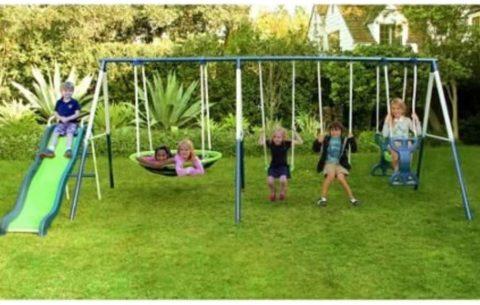 Skroutz Backyard Swing Sets
