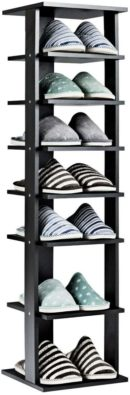 Tangkula Wooden Shoe Racks