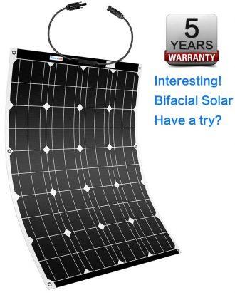 Winnewsun Flexible Solar Panels