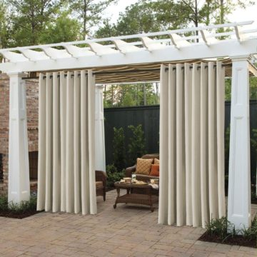 cololeaf Outdoor Curtains