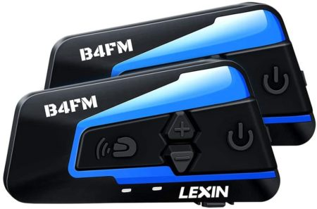 LEXIN Motorcycle Bluetooth Headsets
