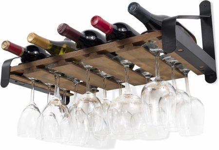 Rustic State Wine Glass Racks