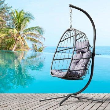 Brafab Hanging Egg Chairs