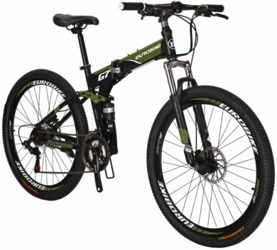 Eurobike Folding Mountain Bikes
