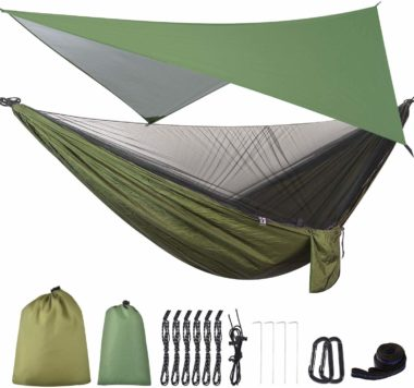 FIRINER Hammocks with Mosquito Net