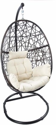 LUCKYBERRY Hanging Egg Chairs