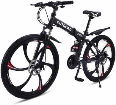 OUTROAD OUTDOOR CAMPING GARDEN PATIO Folding Mountain Bikes