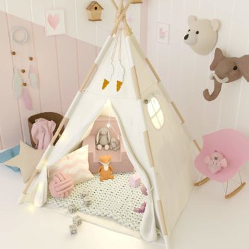 TazzToys Teepee Tent for Kids