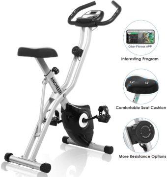 ANCHEER Folding Exercise Bikes