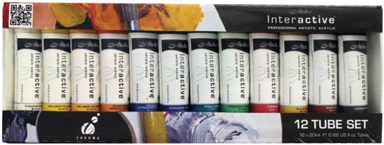Chroma Acrylic Paint Sets