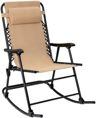 Flamaker Folding Rocking Chairs