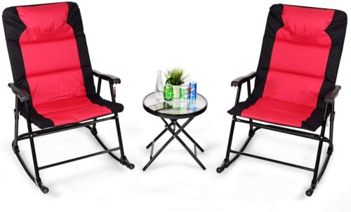 Giantex Folding Rocking Chairs