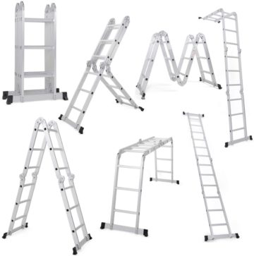 Giantex Multi Position Ladders