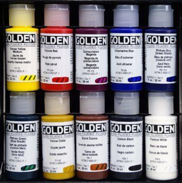 Golden Acrylic Paint Sets