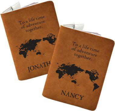 Handmade Curious Passport Holders
