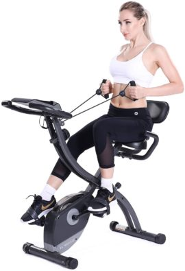 MaxKare Folding Exercise Bikes