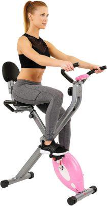 Sunny Health & Fitness Folding Exercise Bikes