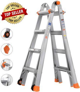 TACKLIFE Multi-Use Ladder