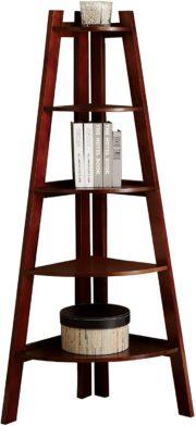 Furniture of America Corner Bookshelves