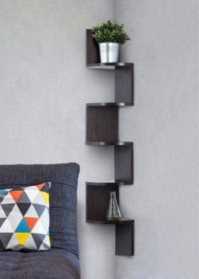Sagler Corner Bookshelves