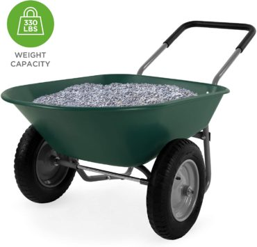 Best Choice Products 2 Wheel Wheelbarrows
