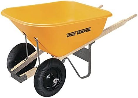 True Temper 2 Wheel Wheelbarrows