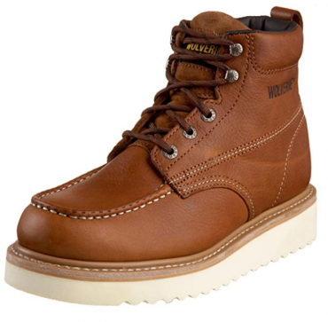 Wolverine Most Comfortable Work Boots for Men