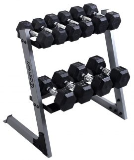 Giantex Dumbbell Sets with Rack