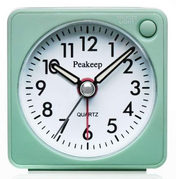 Peakeep Travel Alarm Clocks
