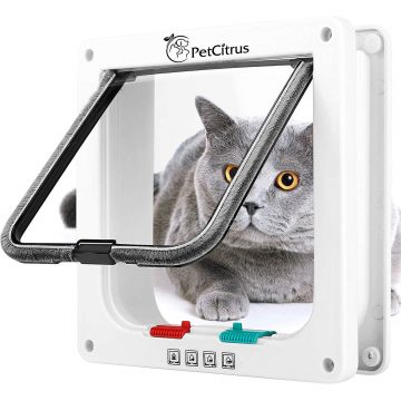 PetCitrus Cat Doors for Window