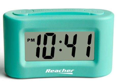 REACHER Travel Alarm Clocks