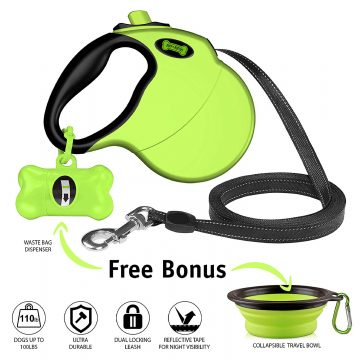 Ruff 'n Ruffus Retractable Dog Leashes